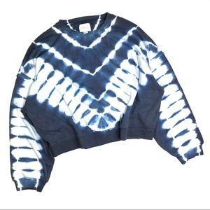 American Eagle Tie Dye Crew Neck Sweatshirt XXL